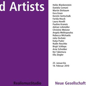 Selected Artists 2009, Rebecca Michaelis, Nicola Kuhn, 2010