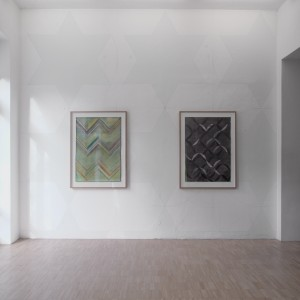 Ausstellungsansicht, crossing abstraction
