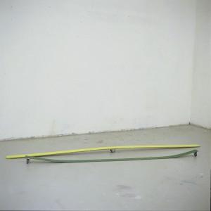 Bentpaintings gelb und grün 2003