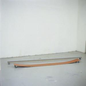 Bentpaintings grau und orange  2003
